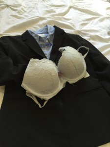 Of course the bra has to match!